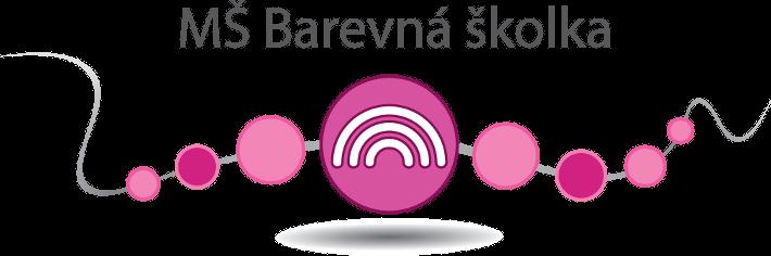 logo mš barevná školka